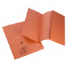 Initiative Document Wallet Foolscap Medium Weight 285gsm Orange