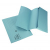 Initiative Document Wallet Foolscap Lightweight 250gsm Blue