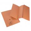 Initiative Document Wallet Foolscap Lightweight 250gsm Orange