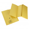 Initiative Document Wallet Foolscap Lightweight 250gsm Yellow