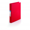 Initiative Polypropylene Coated Board 2 Ring Binder 25mm Capacity A4 Red