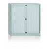 Initiative Side Open Tambour Cupboard 1000mm Grey