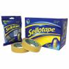 Sellotape Golden Tape 24mm x 66m FOC Executive Chrome Dispenser