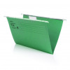 Initiative Suspension File With Tabs and Inserts Foolscap 215gsm Pack 10 Recycled