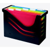 Atlanta Re-Solution Recycled Office Box With 5 Files Store Up To 15 A4 Suspension Files Black