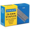 Rapesco Staples 6mm 26/6 Pack of 5000 S11662Z3