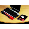 Kensington Gel Mousepad Wave Red/Black