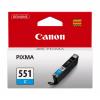 Canon No.551 Inkjet Cartridge Cyan CLI-551C 6509B001