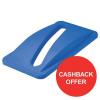 Rubbermaid Slim Jim Lid for Paper Recycling System Blue Ref 2703-88-BLU [Cashback Offer] Jan-Dec 2017