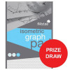 Silvine Student Graph Pad 90gsm 5mm Isometric 50 Sheets A4 Ref A4GPISO [Competition Offer] Jan-Mar 2017