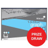 Silvine Student Graph Pad 90gsm 1/5/10mm 30 Sheets A3 Ref A3GP1510 [Competition Offer] Jan-Mar 2017