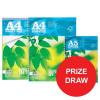 Silvine Refill Pad FSC Paper Feint Headbound A4 Ref FSCRP80 [Pack 5] [Competition Offer] Apr-Jun 2017