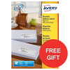 Avery Addressing Labels Laser Recycled White Ref LR7160-100 [2100 Labels] [FREE Tea] Apr-Jun 2017