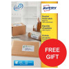 Avery Addressing Labels Laser Recycled White Ref LR7165-100 [800 Labels] [FREE Tea] Apr-Jun 2017