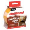 UniBond Carpet To Floor Tape Permanent 50mmx10m Ref 1667748 *2017 Mailer*