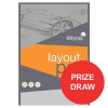 Silvine Layout Pad Bank Paper Acid Free 50gsm 50 Sheets A4 [Competition Offer] Jul-Sep 2017