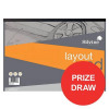 Silvine Layout Pad Bank Paper Acid Free 50gsm 50 Sheets A3 [Competition Offer] Jul-Sep 2017