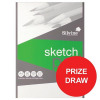 Silvine Popular Drawing Pad Acid Free 100gsm 50 Sheets A4 [Competition Offer] Jul-Sep 2017