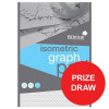 Silvine Student Graph Pad 90gsm 5mm Isometric 50 Sheets A4 Ref A4GPISO [Competition Offer] Jul-Sep 2017