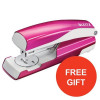 Leitz NeXXt WOW Stapler 3mm 30 Sheet Pink Ref 55021023L [FREE Letter Tray] Jul-Sep 2017