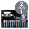 Duracell Ultra Power MX1500 Battery Alkaline 1.5V AA Ref 81235497 [Pack 8] [2 For 1] Nov-Dec 2017