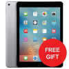 Apple iPad WiFi 32GB Touch ID 8MP Camera Space Grey Ref MP2F2B/A [Free Case] Jan-Mar 2018