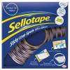 Sellotape Removable Loop Spots Ref 2055790 [Pack 125] Jan-Mar 2018