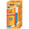 Bic 4-Colour Ball Pen Blue Black Red Green Ref 802077/801867 [Pack 12] [FREE Markers] Apr-Jun 2018
