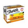 Sharpie Fluo XL Highlighter Chisel Tip 3 Widths Orange Ref 1825656 [Pack 12]