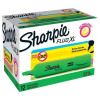 Sharpie Fluo XL Highlighter Chisel Tip 3 Widths Green Ref 1825657 [Pack 12]