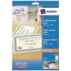 Avery Certificate Paper 50percent Cotton A4 Green Border Ref C2426 [Pack 10]