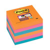 Post-it Super Sticky Colour Notes Pad 90 Sheets Bangkok 76x76mm Ref 654-6SS-EG [Pack 6]