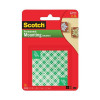 Scotch Mounting Squares Permanent Pre-Cut 13x13mm Ref 111-SML [Pack 8]