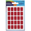 Avery Labels 12x18mm Rectangular Red Ref 32-501 [225 Labels]