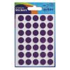 Avery Packets of Labels Diam.13mm Purple Ref 32-506