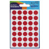 Avery Packets of Labels Diam.13mm Red Ref 32-507