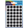 Avery Packets of Labels Diam.13mm Black Ref 32-513