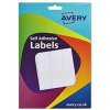 Avery Wallet of Labels 25x50mm White Ref 16-026 [324 Labels]
