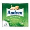 Andrex Toilet Rolls Aloe Vera Rippled Ref M01388 [Pack 9]