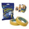 Sellotape Original Golden Tape Roll Non-static Easy-tear Large 25mmx66m Ref 1443306 [Pack 6]