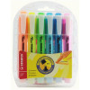 Stabilo Swing Cool Highlighter Water-based Chisel Tip 1-4mm Line Assorted Ref 275/6-3 [Wallet 6]