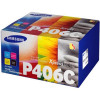 Samsung Laser Toner Value Pack Page Life 4500pp Black/Cyan/Magenta/Yellow Ref CLT-P406C/ELS [Pack 4]