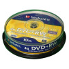 Verbatim DVD+RW Spindle Ref 43488 [Pack 10]