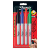 Sharpie Permanent Marker Fine Tip 1.0mm Line Black Ref S0810930 [Pack 12]
