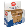 Jiffy Mailmiser Bag Selection Box 10xNo000 10xNo00 10xNo0 5xNo1 5xNo2 5xNo4 Gold Ref 45-6 [Pack 45]