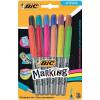Sharpie Permanent Marker Fine Tip 1.0mm Line Assorted Ref S0811070 [Wallet 12]