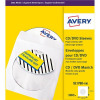 Avery CD/DVD Paper Sleeves 126x126mm White Ref SL1760-100 [Pack 100]