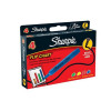 Sharpie Flipchart Marker Water-based Ink Bleed-free Bullet Tip Assorted Ref S0811360 [Pack 4]