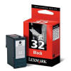 Lexmark No. 32 Inkjet Cartridge Page Life 200pp Black Ref 18CX032E