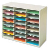 Fellowes Literature Sorter Melamine-laminated Shell 24 Compartments W737xD302xH594mm
